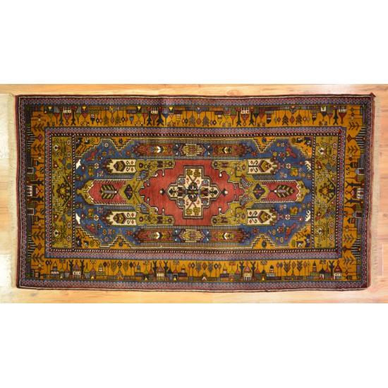 1851 - Vintage Yahyali Village Carpet - Turkey