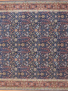 1715 - Hereke Carpet Seven mountains and flovers design