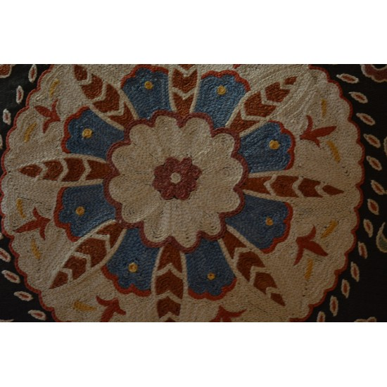 Silk Embroidered Cushion