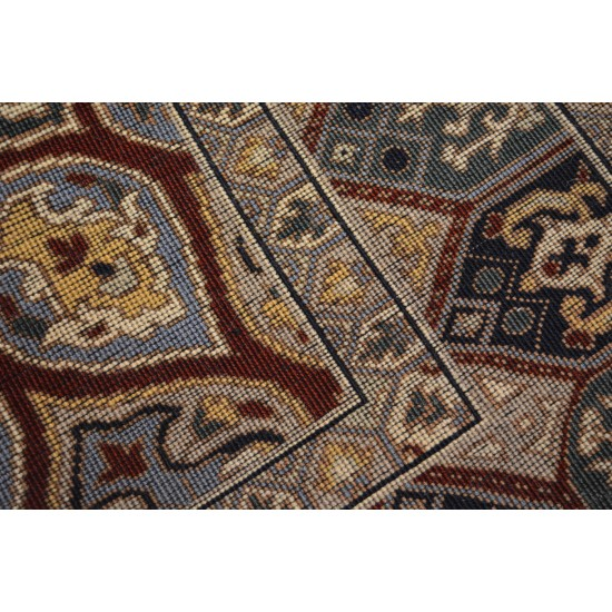 1807 - Mosaic Design Carpet - Afghanistan