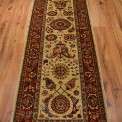 1718 - Contemporary Hall Runner with Suzani Design