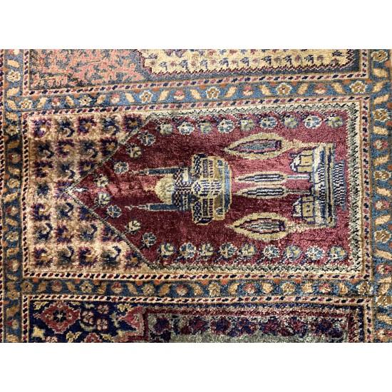 2561 - Soft Vintage Pastel Hallway Rug - Multiple Niche Kayseri